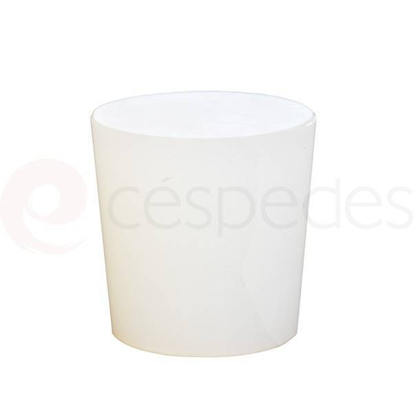 Silicone stoppers for barrels